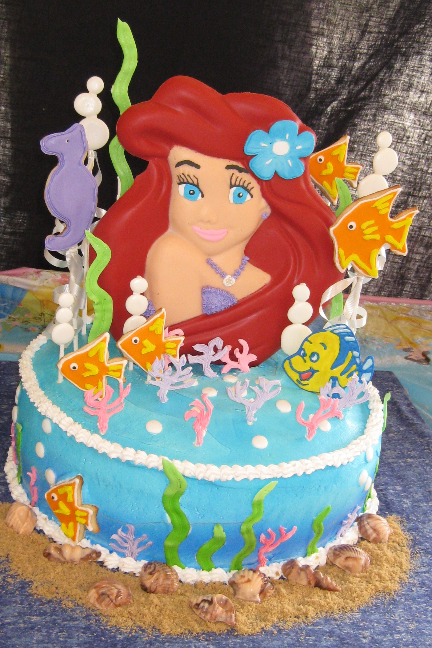 Little Mermaid Cake