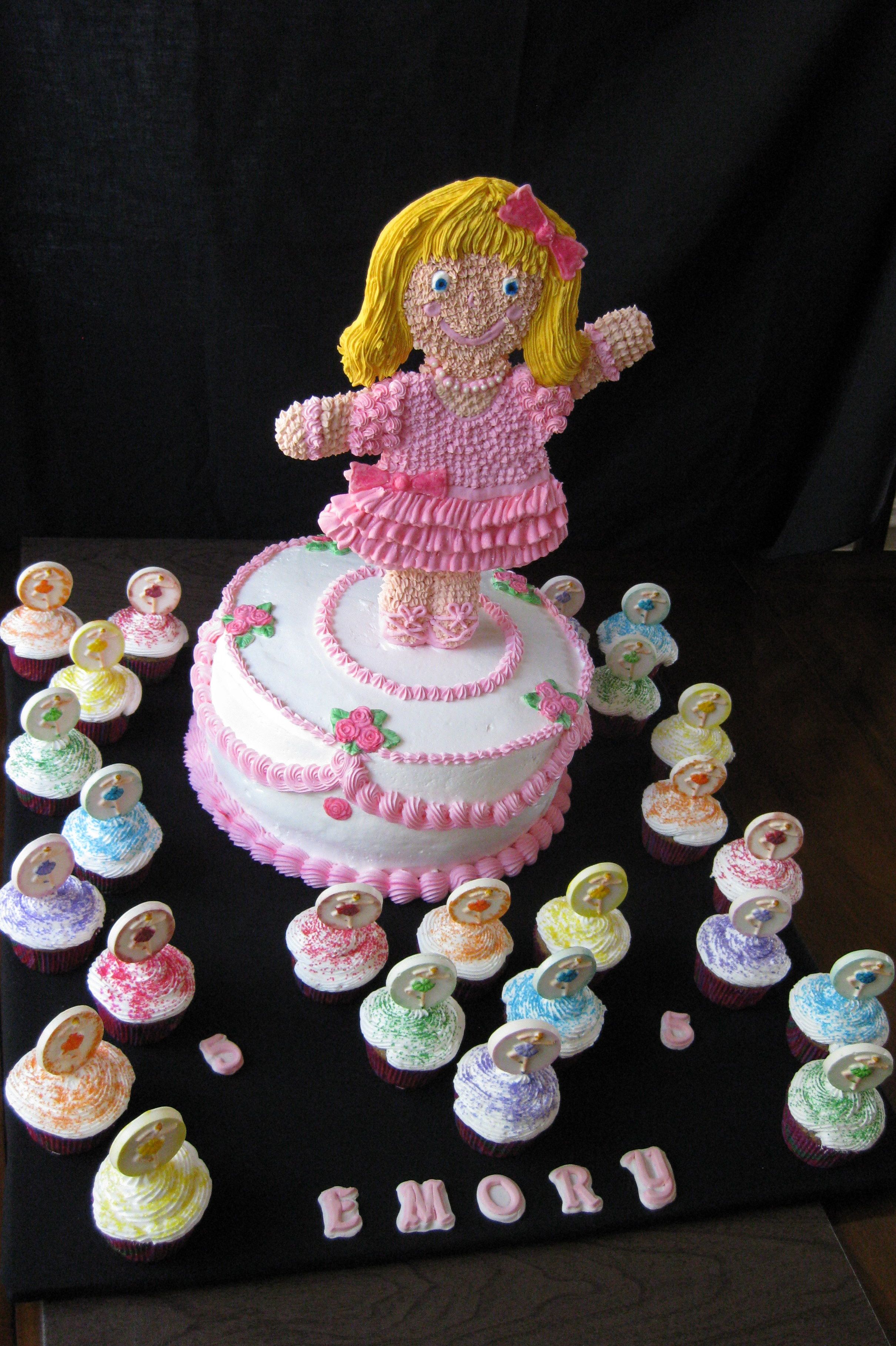 1347 Ballerina cake1