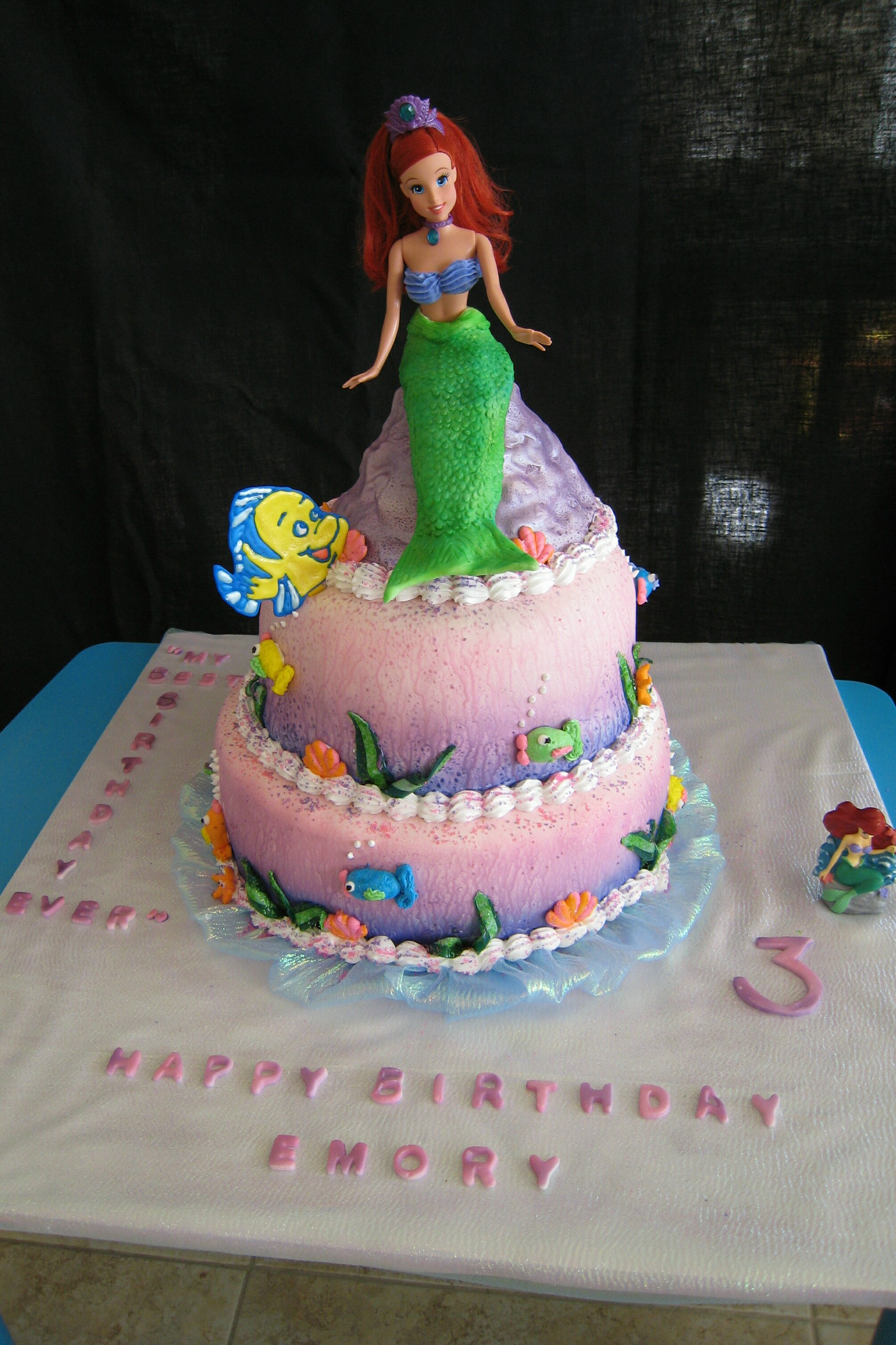 2189 Little Mermaid Cake