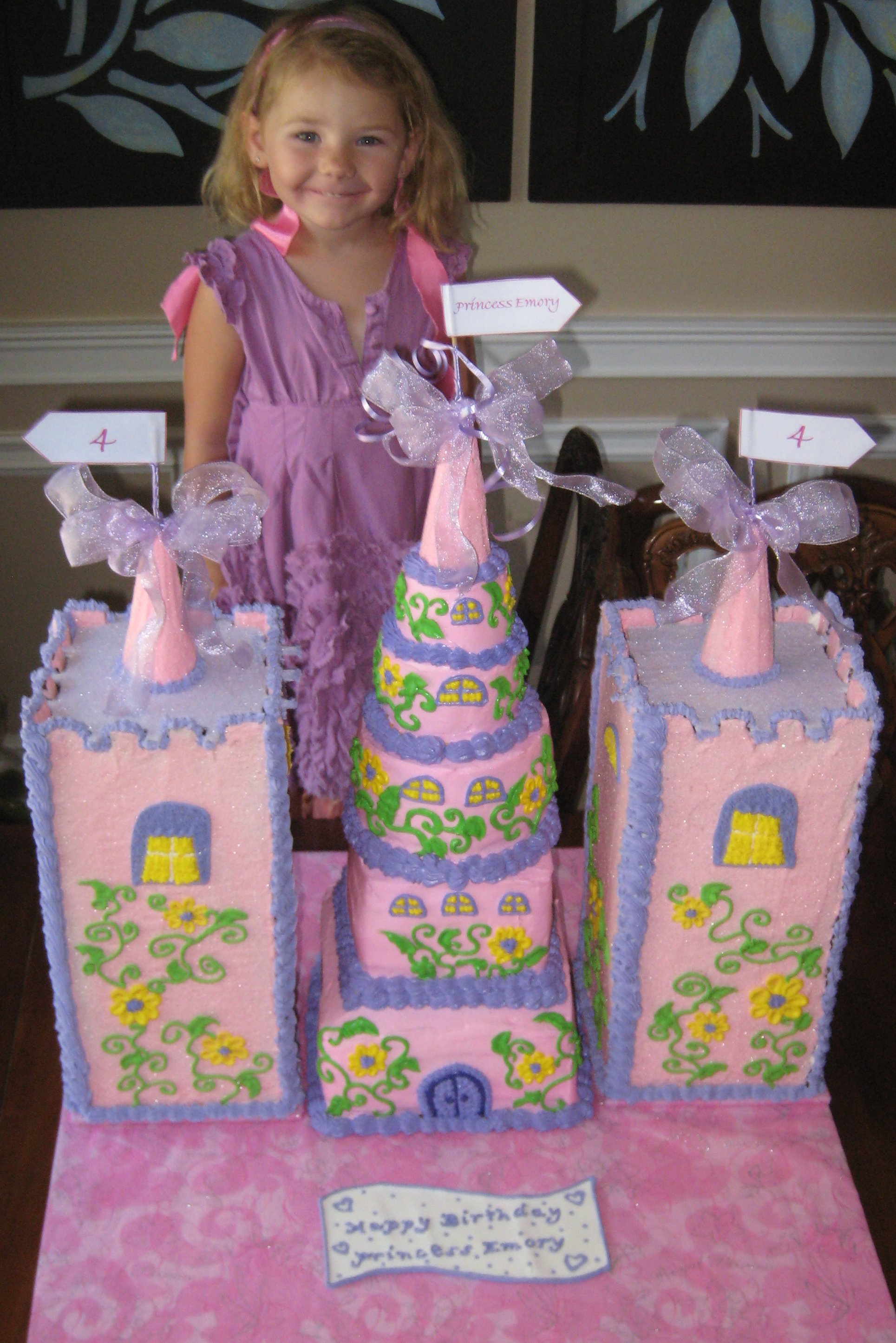 My, what a big castle cake you have Emmy - Copy
