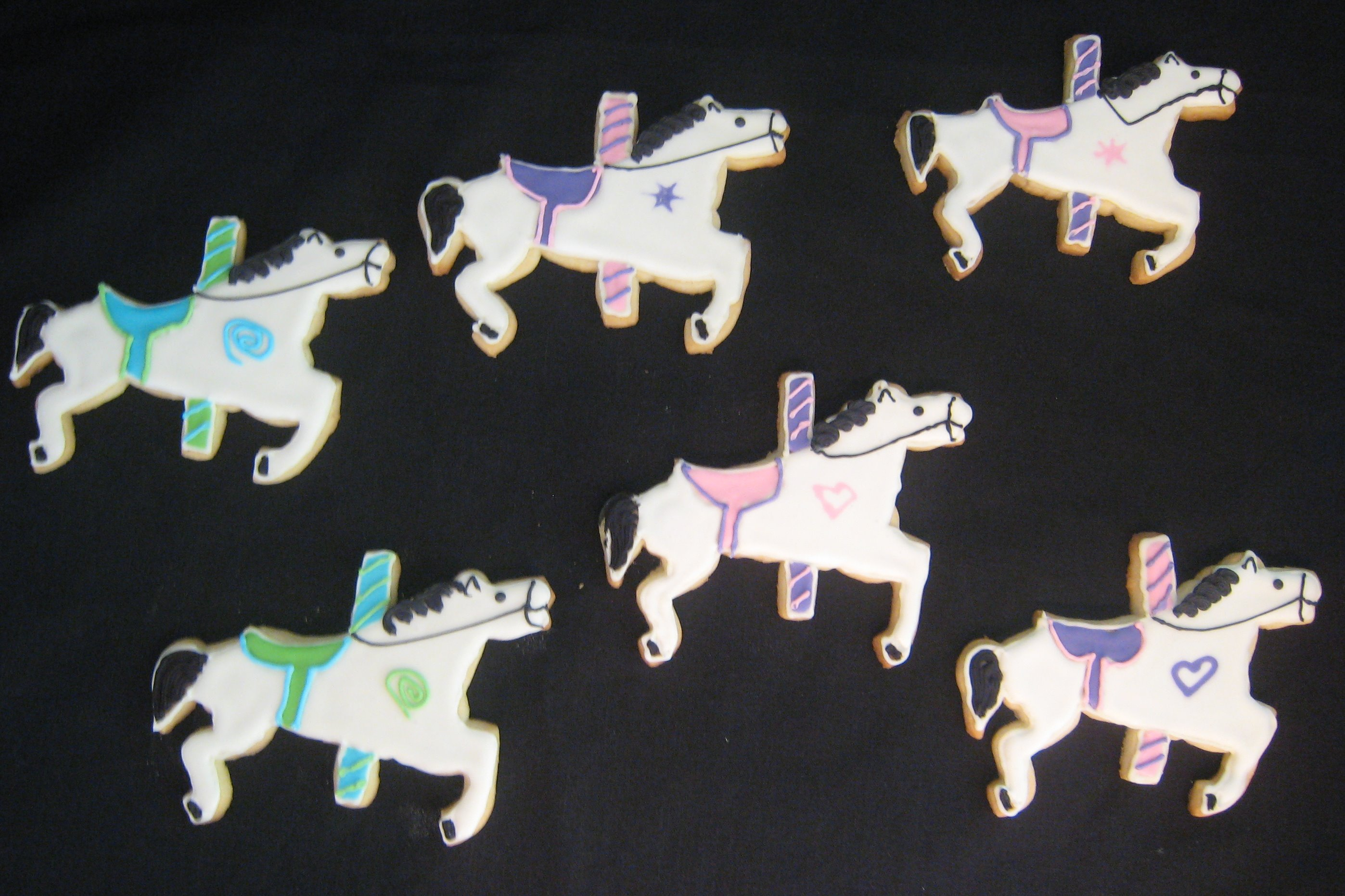 Carousel Horse Cookies - Copy