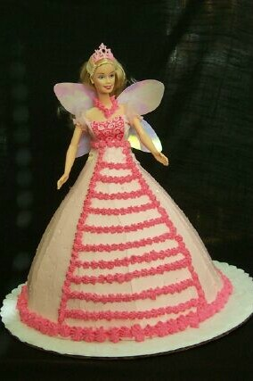 Fairy Barbie Cake2 - Copy