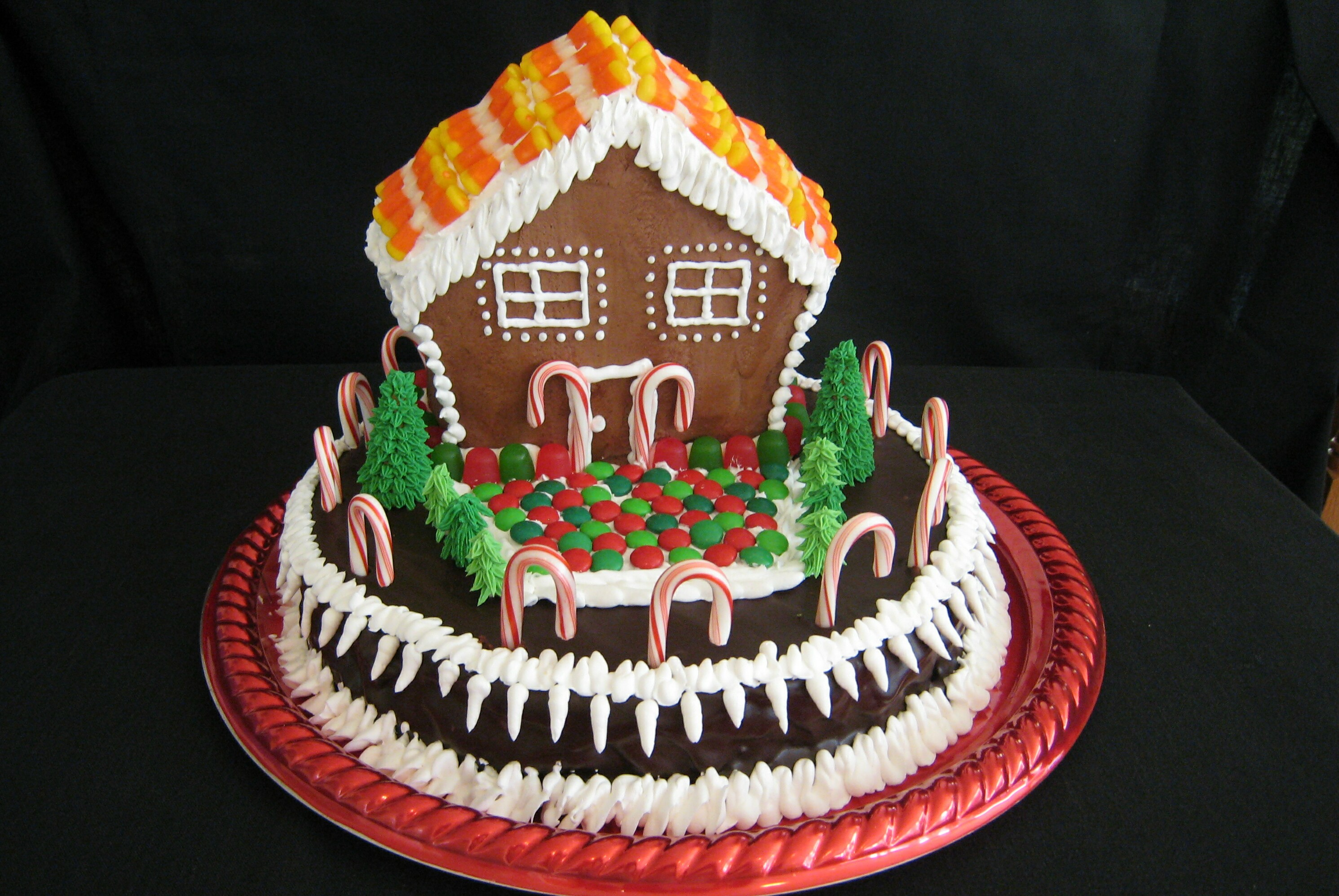 Holiday House Cake - Copy