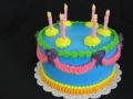 0029 Birthday cake for Janet, Christa, Corinne and Jessica