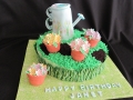 Watering Can Cake