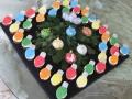 1901 Christmas tree ornament cupcakes