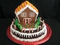 Holiday House Cake - Copy
