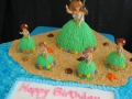 Hula Girl Cakes - Copy