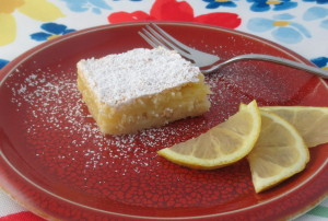 Sweet-Tart Lemon Bars