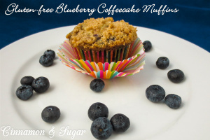 Gluten-free Blueberry Coffee Cake Muffins-