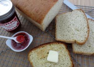 No Knead Toasting Bread