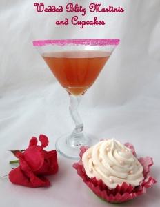 Wedded Blitz Martini and Cupcake2