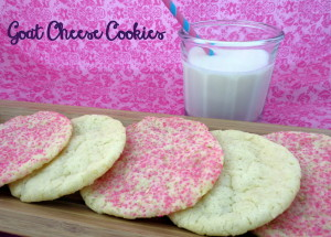 Goat Cheese Cookies