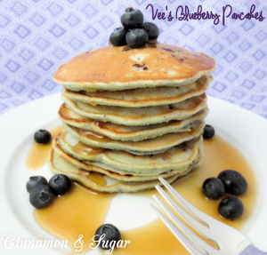 Vee's Blueberry Pancakes-