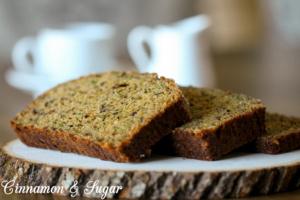 Zucchini Bread--4