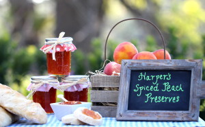 Harper's Spiced Peach Preserves