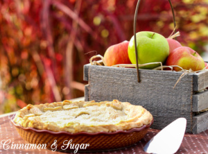 Apple Pie á la Grace Paley combines tart ruby cranberries, ambrosial orange apricots and crunchy fall apples together to make a pie that bursts with flavor!