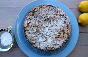 Lemon Scented Almond Flourless Cake