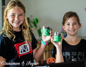 Frankenstein Pudding Cups-4373