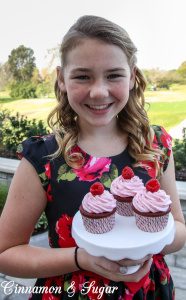 Lucy's Scarlett O'Hara Cupcakes-5551