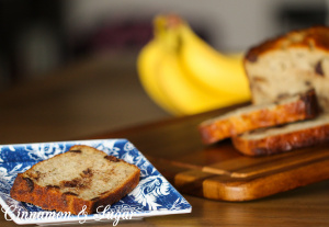 Althea's Banana Bread uses four whole bananas for an extra moist bread without relying on lots of fat. Dark chocolate chips add a layer of decadent flavor that will have you reaching for another slice.