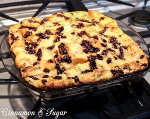Chocolate Chip Bread Pudding-6093