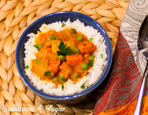 Spicy Root Vegetable Curry