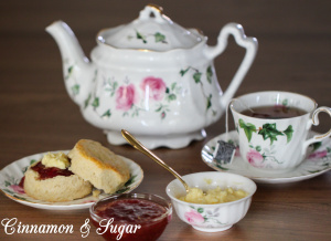 Traditional English Scones are much easier to make than you might think and are the perfect accompaniment for breakfast or afternoon tea! Recipe shared with permission granted by H.Y. Hanna, author of A SCONE TO DIE FOR.