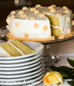 Fat-free orange cake that still tastes rich and ultra moist even without frosting. When topped with super flavorful orange buttercream this cake is wedding worthy but you'll want to make it for any occasion!