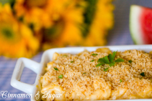 Slow Cooker Macaroni & Cheese doesn't require much hands on time, but it is still creamy, delicious, and comforting.