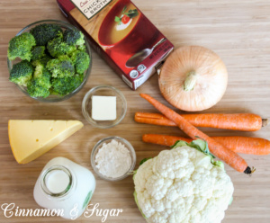 Gouda and Harvest Vegetable Chowder