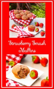 With less than 180 calories per muffin, these Strawberry Smash Muffins are a guilt-free indulgence with delicious flavor and a satisfying moist richness!