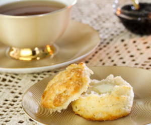 The Southerner's key to melt-in-your-mouth biscuits is using sweet-milk (buttermilk). These easy to mix up biscuits are tall, fluffy, and utterly delicious!
