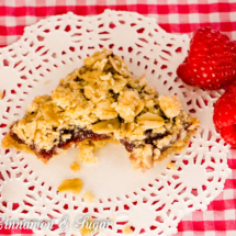 Oatmeal Raspberry Crumble Bars-14