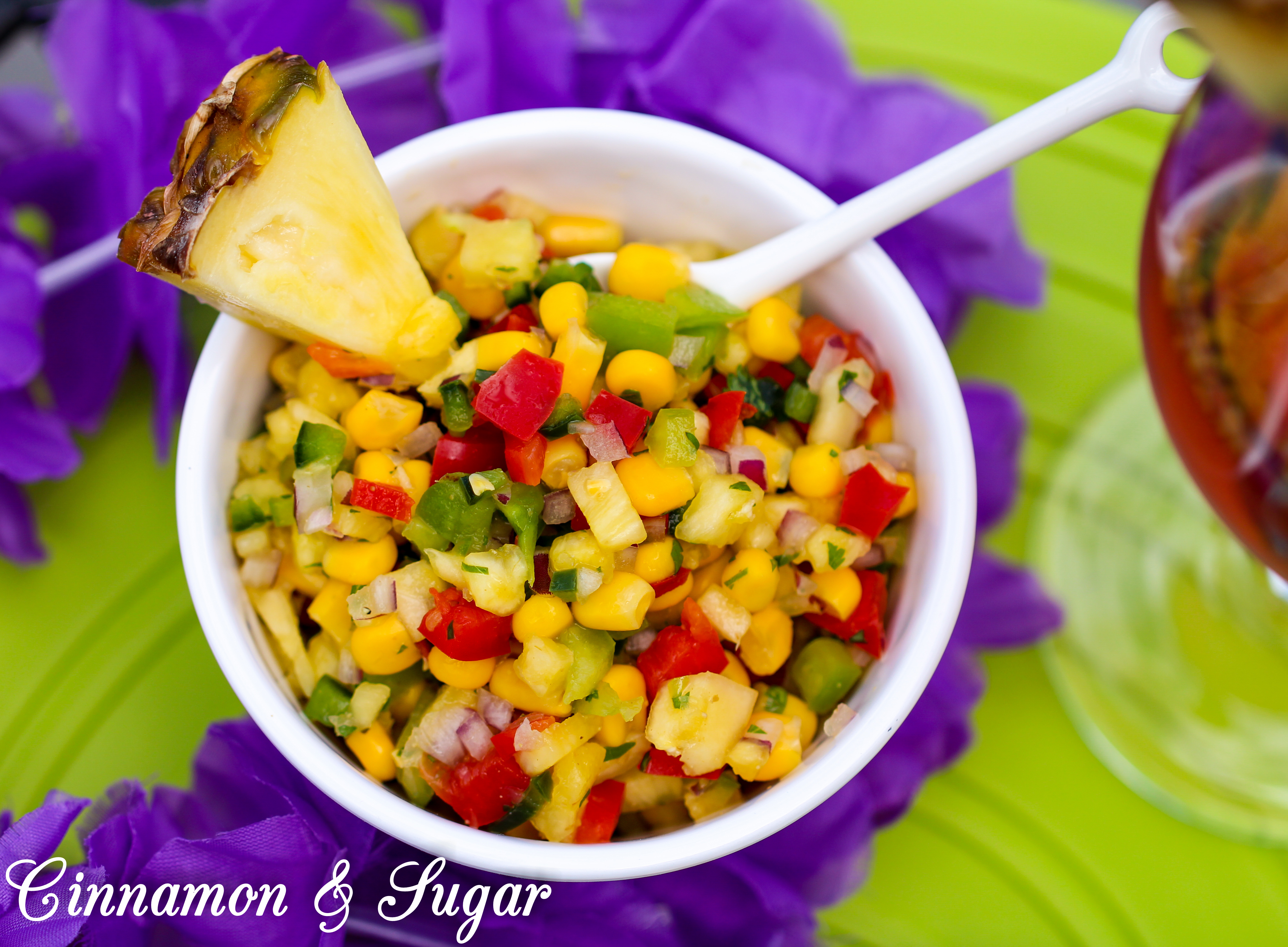 Poncho's Pineapple Salsa
