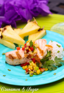 Fresh, flavorful ingredients combine to create Poncho's Pineapple Salsa for a taste of the tropics. Serve as an appetizer or with grilled fish or chicken.