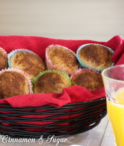 A breeze to mix up, Applesauce Mini Muffins are fun bites of apple and cinnamon yumminess and perfect for little hands to hold.