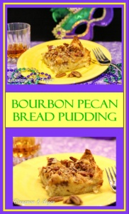 With a natural affinity for each other, Bourbon and pecans elevate decadent bread pudding, made with buttery croissants, to pure bliss!