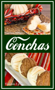 Conchas, the most well-known Mexican pastry, is named such due to the sugar shell sitting on top of the light and fluffy sweet bun.