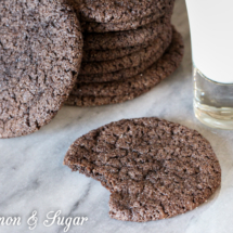 Crispy Thin Chocolate Cookies-2