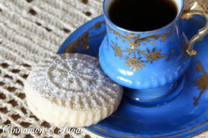 A traditional Middle Eastern treat, Maamoul Cookies are shortbread type cookies stuffed with dates or walnuts & pressed into an intricate mold before baking