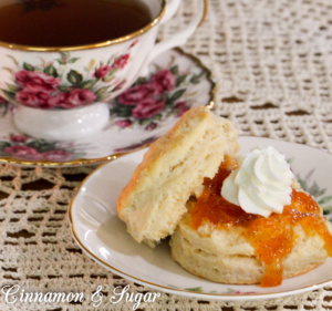 Simple Scones with Vanilla and Lemon Zest are fuss-free, delicately flavored scones that make any breakfast or tea time a special occasion!