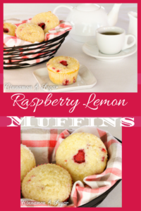 Using plenty of fresh raspberries, these Raspberry Lemon Muffins have a sunny burst of flavor thanks to fresh lemon juice and lemon zest!