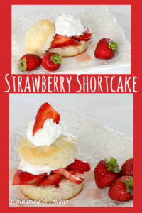 Easy Strawberry Shortcake is almost as quick as buying pre-packaged shortcakes. Using only 3 ingredients for the shortcake and fresh strawberries and cream, you'll make this all summer long!