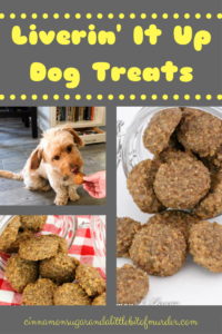 Liverin' It Up Dog Treats relies on jarred baby food making this an easy recipe to prepare. Your furry friends will give it 2 paws up for its beefy flavor!