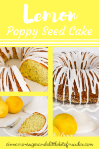 Lemon Poppy Seed Bundt Cake with Lemon Glaze will be a hit with it's supremely moist crumb and refreshing, lemony flavor.
