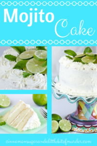 Mojito Cake is a rich, buttery cake that is infused with lime and rum flavors, bringing the taste of the traditional Cuban drink to the dessert table.