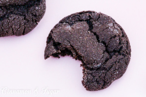 Double Chocolate Chili Cookies have a bit of hot spice that adds to the depth of the chocolate. Chocolate chips adds a burst of flavor to each bite.