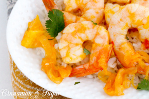 Spot Prawns with Citrus and Harissa combine an explosions of flavors that complement each other, creating a delectable meal that will earn rave reviews! Recipe shared with permission granted by Leslie Karst, author of MURDER FROM SCRATCH.