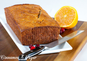 Tart cranberries, zingy orange zest and orange juice and crunchy walnuts combine to create delectable Cranberrry Orange Bread. Recipe created by Maddie Day, author of cozy mystery MURDER ON CAPE COD.